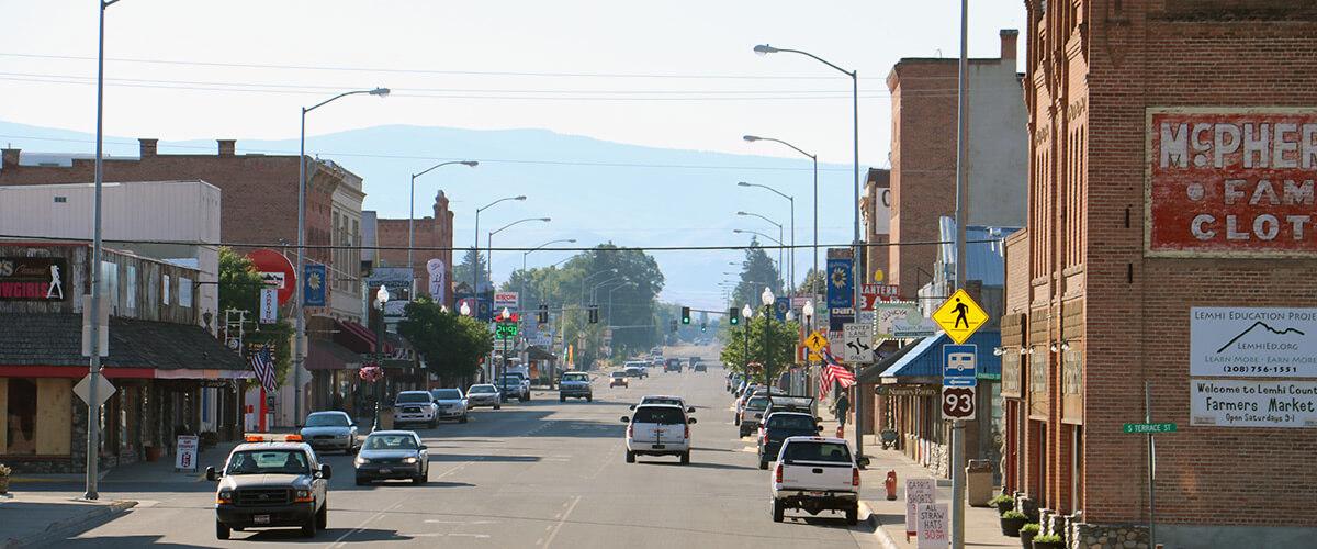 Downtown Salmon, ID