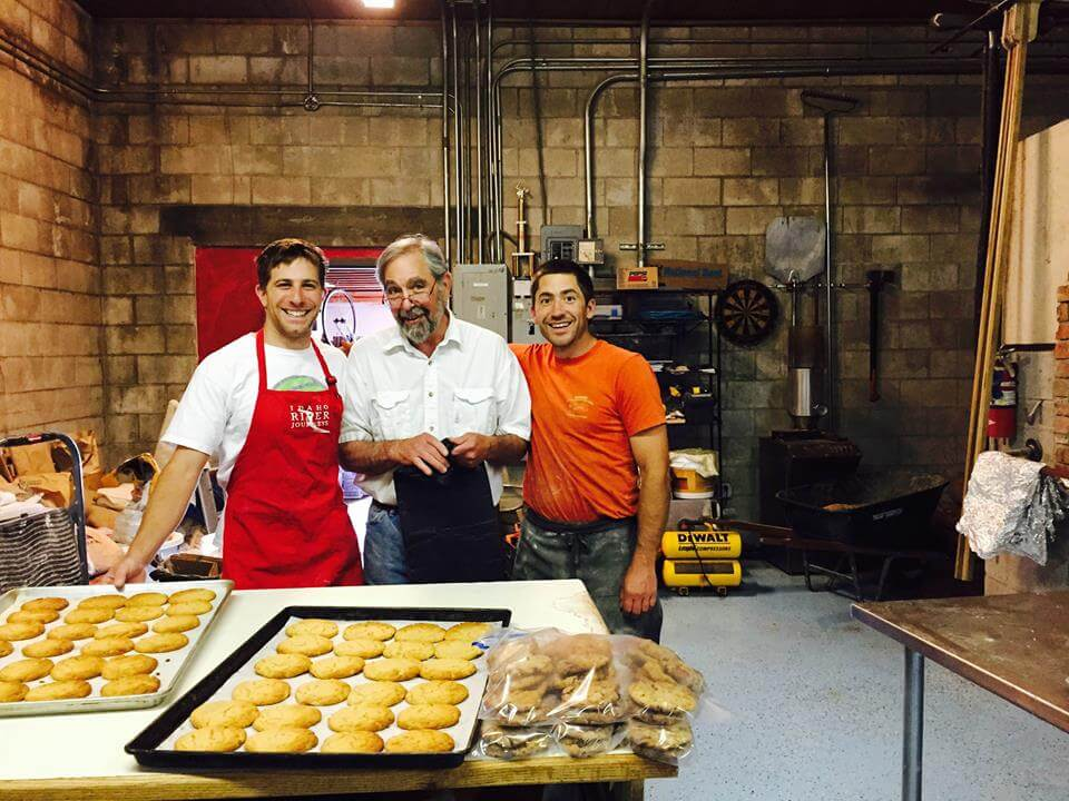 staff in Odd Fellows bakery