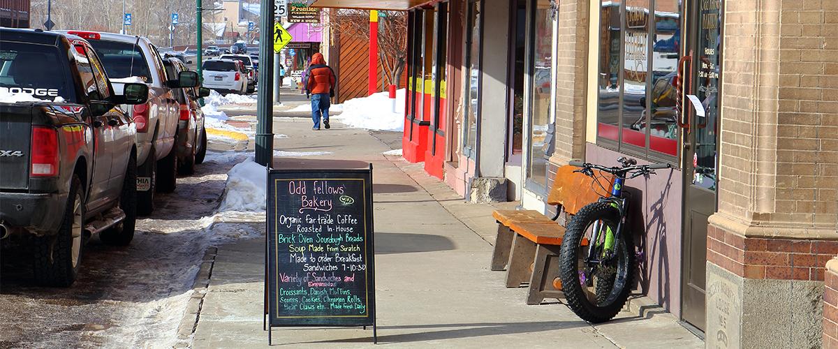 Oddfellows bakery, Salmon Idaho
