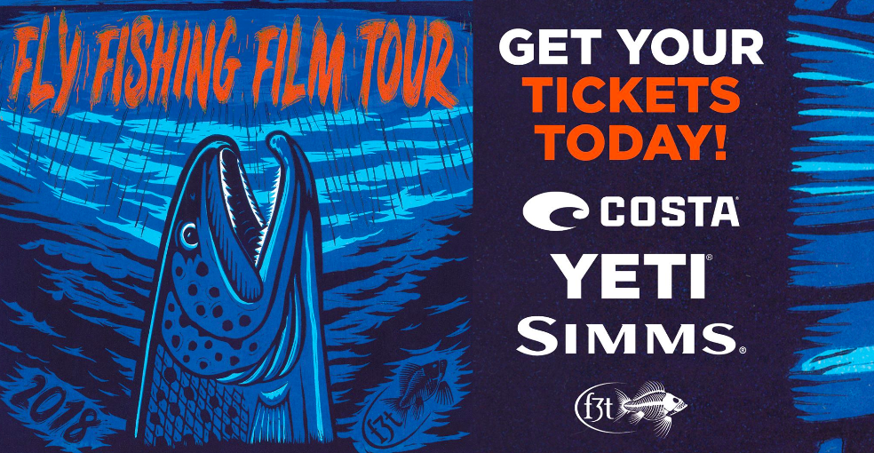Fly fish film tour: image