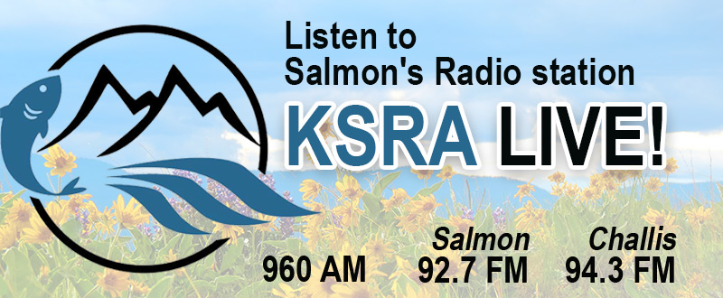 Banner: KSRA salmon Idaho radio