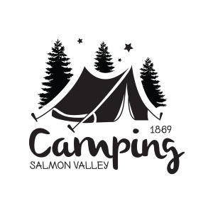 Camping in Salmon, Idaho
