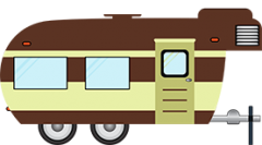 icon: Recreational Vehicles and campgrounds