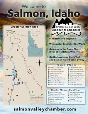 download Salmon Chamber of Commerce Map