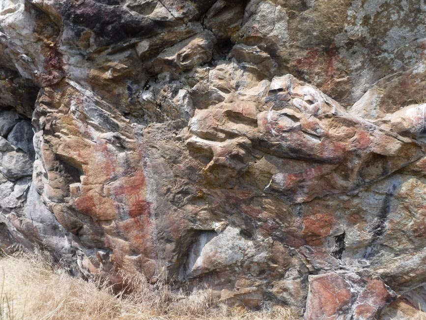 Cameron Creek pictographs
